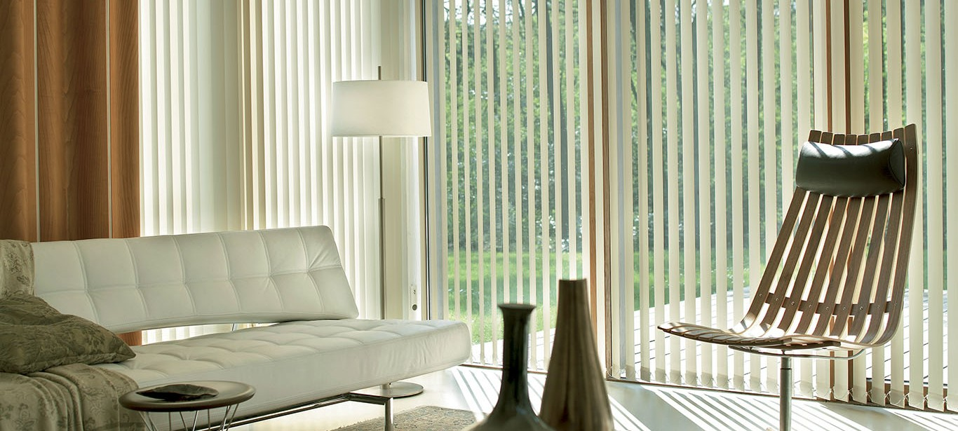 Superb When Light Inhabit Space, It Creates A Unique Pervading Atmosphere Where  Dynamism Blends With Comfort In A Warm Embrace. Vertical Blinds, With  Adjustable ...